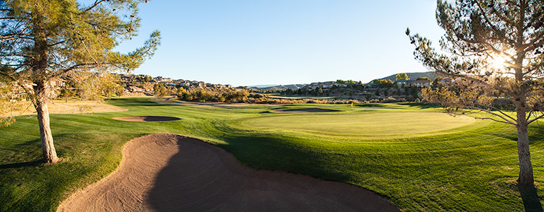 1 Green @ St. George Golf Club - St. George Utah Golf - Photo By - Brian Oar - @brianoar