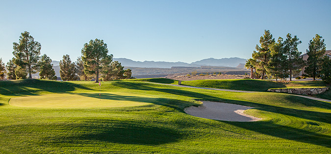 11 Green @ Southgate Golf Club - St. George Utah Golf - Photo By - Brian Oar - @brianoar