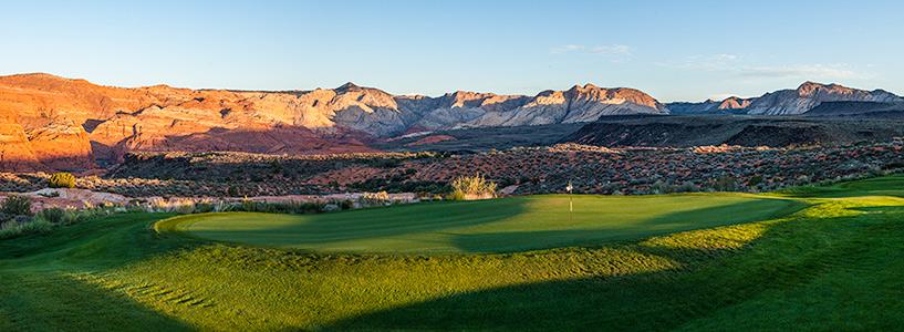 12 Green @ The Ledges Golf Club - St. George Utah Golf - Photo By - Brian Oar - @brianoar