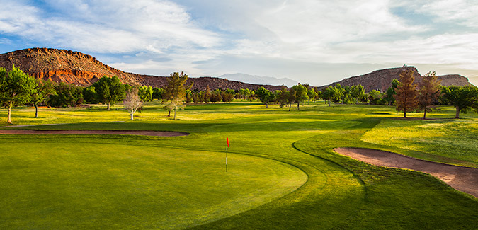 13 Green @ Bloomington Country Club - St. George Utah Golf - Photo By - Brian Oar - @brianoar