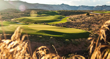 15 Green @ The Ledges Golf Club - St. George Utah Golf - Photo By - Brian Oar - @brianoar