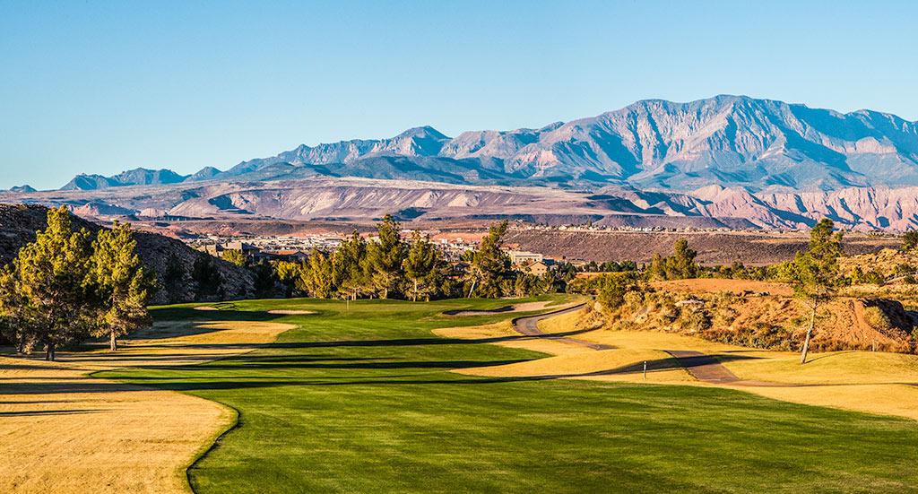 16 Fairway @ St. George Golf Club - St. George Utah Golf - Photo By - Brian Oar - @brianoar