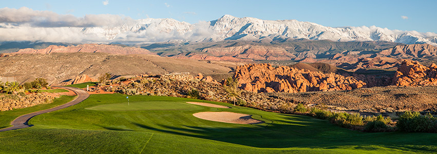 17 Fairway @ Sky Mountain Golf Course - St. George Utah Golf - Photo By - Brian Oar - @brianoar