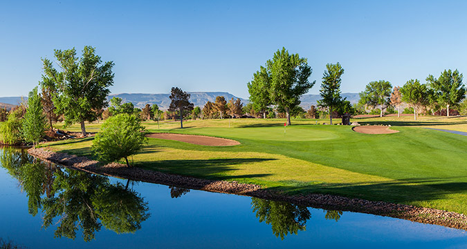 17 Green @ Bloomington Country Club - St. George Utah Golf - Photo By - Brian Oar - @brianoar