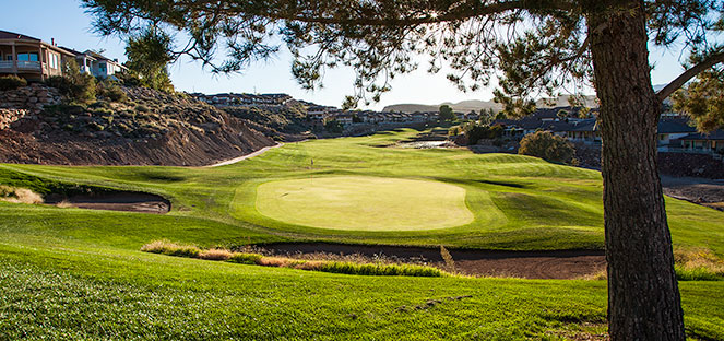 17 Green @ Southgate Golf Club - St. George Utah Golf - Photo By - Brian Oar - @brianoar