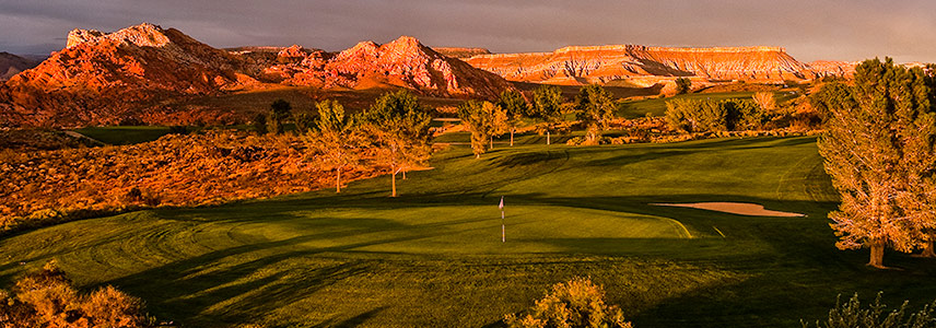 3 Green @ Sky Mountain Golf Course - St. George Utah Golf - Photo By - Brian Oar - @brianoar