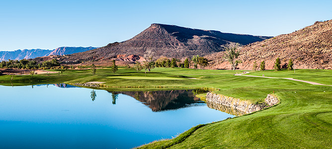 5 Tee @ Southgate Golf Club - St. George Utah Golf - Photo By - Brian Oar - @brianoar