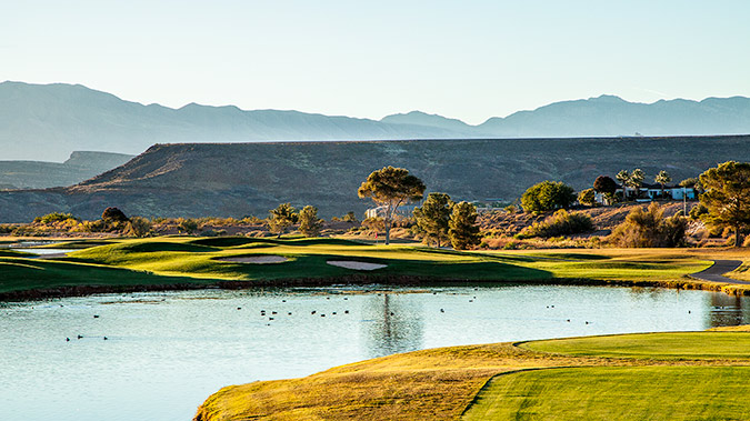 5 Green @ St. George Golf Club - St. George Utah Golf - Photo By - Brian Oar - @brianoar