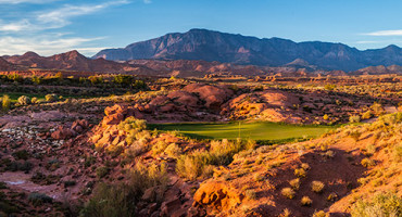 6 Tee @ Coral Canyon Golf Club - St. George Utah Golf - Photo By - Brian Oar - @brianoar