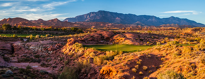 6 Tee @ Coral Canyon Golf Club - St. George Utah Golf - Photo By - Brian Oar - @brianoar