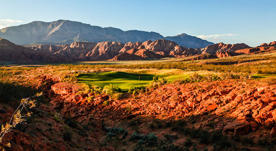 6 Tee @ Green Spring Golf Course - St. George Utah Golf - Photo By - Brian Oar - @brianoar