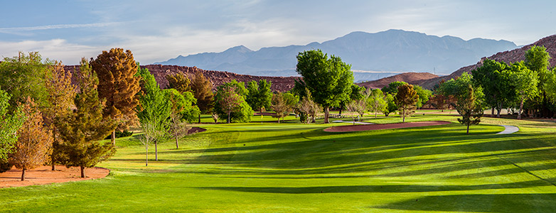 7 Green @ Bloomington Country Club - St. George Utah Golf - Photo By - Brian Oar - @brianoar
