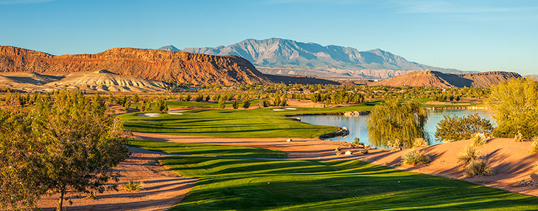 7 Tee @ SunRiver Golf Club - St. George Utah Golf - Photo By - Brian Oar - @brianoar