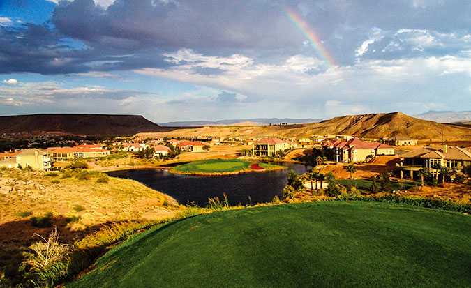 7 Tee @ Sunbrook Golf Club - St. George Utah Golf - Photo By - Brian Oar - @brianoar