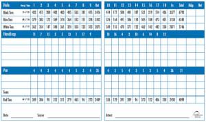 SunRiver Golf Club Scorecard | StGeorgeUtahGolf.com