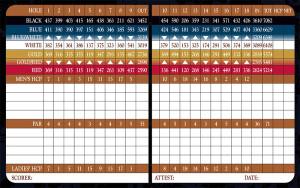 Entrada at Snow Canyon Golf Club Scorecard | StGeorgeUtahGolf.com