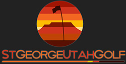 St George Utah Golf Logo