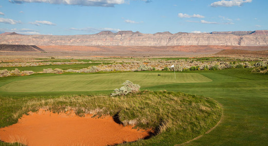 Sand Hollow Resort Links Course - St. George, Utah Golf - Photo By @BrianOar