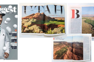 Golf Digest Magazine Showcases St. George Utah Golf in October Issue