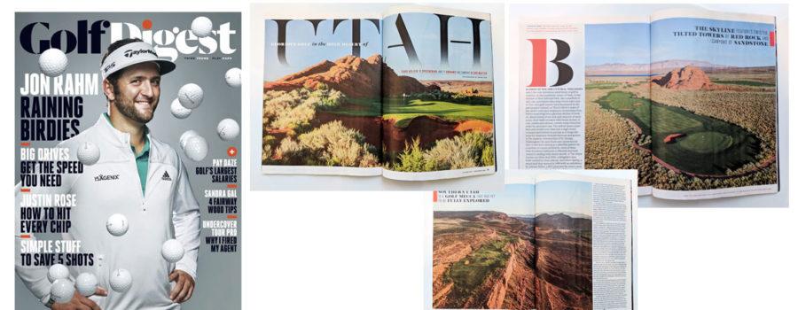 Golf Digest Magazine Showcases St. George Utah Golf in October Issue